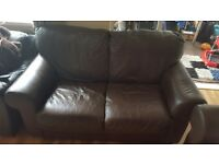Two seater sofa good condition clean.