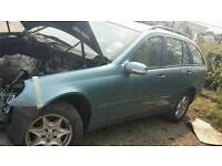 Mercedes c class w 203 astate for Breaking 2004