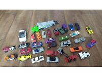 33 X toy cars matchbox, hot wheels etc