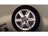 4 Audi Alloys and Tyres for sale