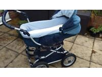 Bebecar 2 in 1 Pram and Pushchair