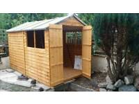 10 x 6 overlap shed new