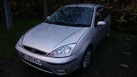 £980£ O.n.o LOW MILEAGE Silver 2003 Ford Focus Ghia 2.0 Automatic Gearbox