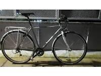 Trek 721 all day commuting bike, touring, size M dynamo hub lights