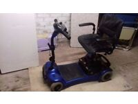 mobility scooter 4 wheel stirling little gem good battery can take apart disasemble