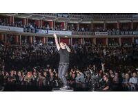 3 x ED SHEERAN ARENA Standing Tickets Royal Albert Hall 28/03/2017