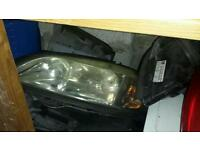 Astra head lights and rear lights