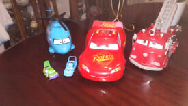 Bundle of character cars from the Cars movie