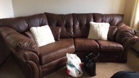 Cozy corner sofa