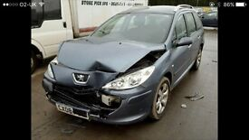 **FOR BREAKING** 2008 PEUGEOT 307 SW.