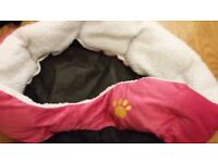 Dog or cat soft bed for sale , was £15.00 now £5.00