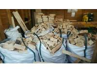 Fire wood dumpy bags