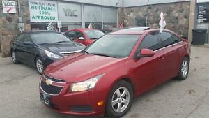 2011 Chevrolet Cruze LT2 Turbo, Auto AC Sunroof & MORE