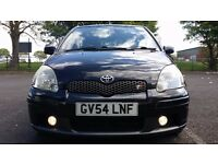 Toyota Yaris (Black) T Sport 5 door 1.5 VVTI – Low Mileage and FSH (12 stamps)
