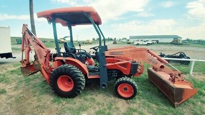 2013 Kubota B26 Mini Backhoe Loader Tractor Used