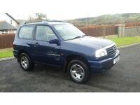 2001 suzukie vitra 4x4 petrol swb moted £695