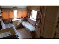 Elddis mistral XL caravan. 2 berth