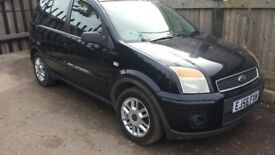 ford fusion zetec climare 1600cc full leather heated front screen air con fully loaded long mot
