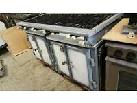 Commercial catering 8 burner Chester cooker