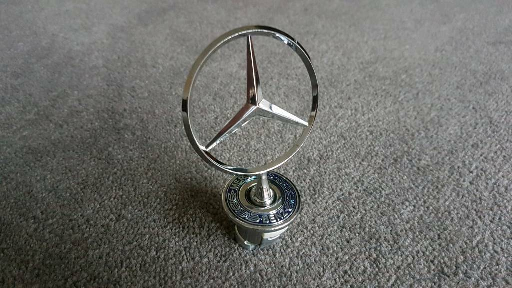 Mercedes Benz Front Hood Emblem Badge 1993-2009