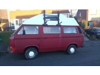 VW T25 Transporter 1990 DIESEL high-top camper - Leisure Drive conversion