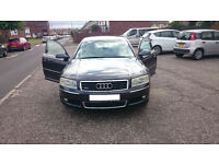 Audi A8 3.7 converted to LPG