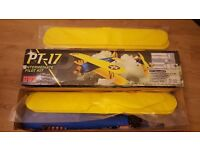 GWS PT-17 stearman kit. also comes with spare wing set. kit includes motor. rc model aeroplane