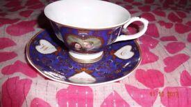 Gleneagles Royal Wedding Bone China Collectible Tea Set For One