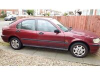 Honda Auto - 1.4 - drives and starts - Short Mot- Quick sale as need space