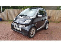 smart car convertible fortwo low miles low tax great mpg