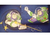 Buzz Lightyear Toy Story duvet cover and pillow case kids single bed size