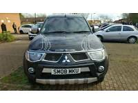 Top spec mitsubishi l200 168bhp full m/d s/h