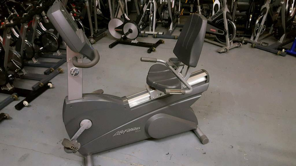 Life fittnes RECUMBENT EXERCISE BIKE. FOR PARTS NOT