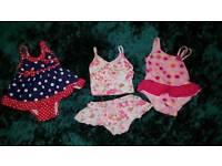 Swim suits 9-18 months