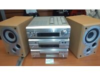 DENON STACK SYSTEM WITH SPEAKERS FOR SALE