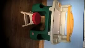 Kids Art Desk Step 2 **As new never used can deliver**