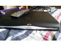 Sky hd box with remote and hdmi lead , 500gb model , can also be used as freesat box