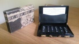 ACCENT Mini Briefcase Calculator.