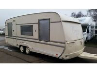 CARAVAN TABBERT COMTESSE DELUXE 2003-- 5 BERTH-- FULL SIZE AWNING-FIXED BED