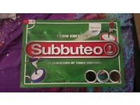 Retro Subbuteo table football bundle