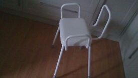 Perching stool - As new - ideal for personal care, ironing -/ emergency chair / daily tasks1