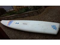 Hifly windsurfer outfit from the 1980's excellent condition ideal as a starter board