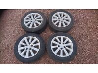 2005 Civic Type-S Alloys with Winter Tyres 205/55/16