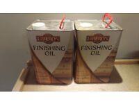 Liberon finishing oil - > 5l