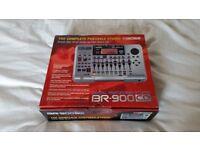 BOSS BR 900 CD MULTI TRACK RECORDING STUDIO - BURNS STRAIGHT TO CD