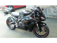Honda fireblade 1000rr 6 may px poss car/van cash my way or your way.