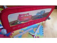 Cars Theme Safety Bed Guard