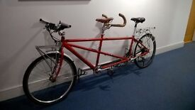 Tandem Bicycle for Touring