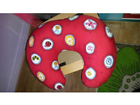 Nursing/breastfeeding pillow. In VGC. Washable cover.