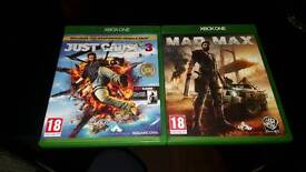 Just cause 3 and mad max